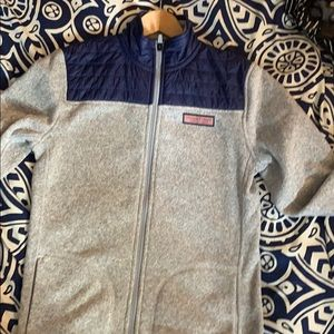 Vineyard vines Sweater Fleece Full-Zip Shep Shirt